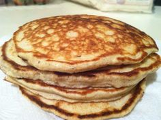 Herbalife protein pancakes 4 egg whites 1/4 cup of rolled oats 1 tsp vanilla 2…
