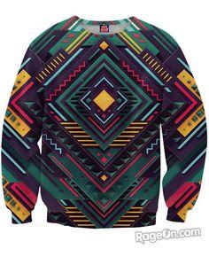 Pure Geometry Sweatshirt - RageOn