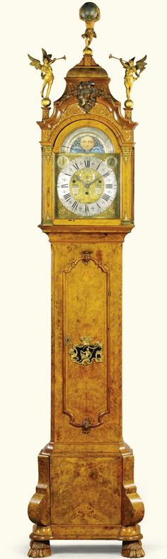 1750 Dutch Longcase Clock from the Gustav Leonhardt Collection at the Bartolotti House, Amsterdam