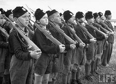 Balilla (Italian Fascist Youth).