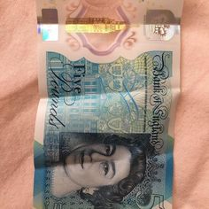 Received my first plastic 5.00 last night. This is the front #theconnectorint #money #currency