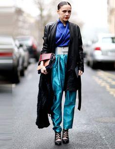 Tiffany Godoy in Damir Doma Spring Summer 2013 on Elle UK