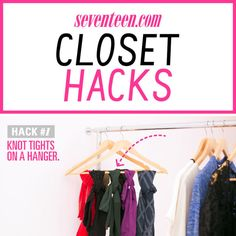 Getting dressed is so much easier when you can actually see all your clothes. Try these genius ideas to organize everything in your closet, from your shoes and sunglasses to your jeans.