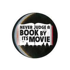 Never Judge A Book By Its Movie Pin | Hot Topic