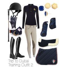 Trip to Dubai Training Outfit 2