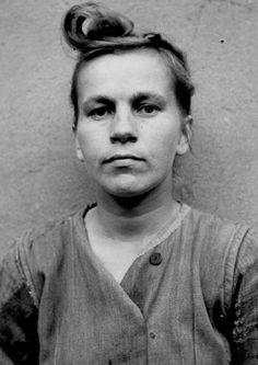 Nazi Women: 10 Monstrous Female Nazi War Criminals - EnkiVillage. Elisabeth Volkenrath.