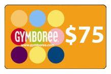 $75 gymboree