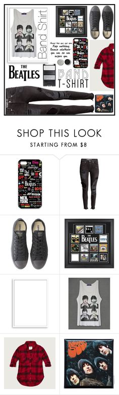 """""""The Beatles Band Tee"""" by dumplingxd ❤ liked on Polyvore featuring Converse, Frontgate, Bomedo, Abercrombie & Fitch, Terre Mère, bandtshirt and bandtee"""