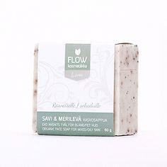 Savi-Merilevä kasvosaippua 60g - FLOW kosmetiikka