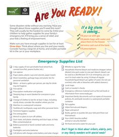 Governors Roy Cooper of North Carolina and Henry McMaster of South Carolina have both declared a state of emergency so state and local officials can better 72 Hour Emergency Kit, Emergency Packs, Emergency Binder, Emergency Preparedness Kit, Family Emergency, Emergency Preparation, Emergency Supplies, Survival Tips, Survival Skills