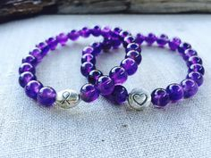 Lupus and fibromyalgia awareness bracelet by ButterflyWarriors