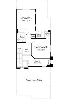 Yale Town Home  Ivory Homes Floor Plan