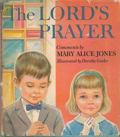 VINTAGE KIDS BOOK The Lord's Prayer by HazelCatkins on Etsy, $10.00