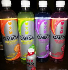 Omega Infusion Drinks Review  - 40mg-250mg of Omega-3s per serving. Tasty way to get Omega-3s into your diet with no fish taste! Health And Wellness, Health Fitness, Paleo Diet Plan, Healthy Eating For Kids, Frappe, Diet And Nutrition, Omega, Berry, Smoothies