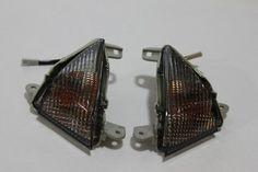 $$$ Cheap Price Euro Turn Signals - Kawasaki 650 650R Ninja 06-08, ZX10R 06-08, ZX14 R ZX14R 06-12, ZX6R 636 05-12, Concourse 14 08-12 - Smoke