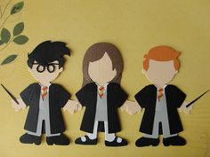 Harry Potter and Pals Handmade Wizarding by HighlandInspirations