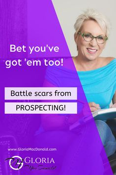 Yup! If you've been doing it for very long...  Bet you've got 'em too!  The battle scars from prospecting and recruiting, that is. ;)  And if you're anything like me...  Sometimes you just don't feel very much like getting back up again.  It can be downright draining.  And sometimes...