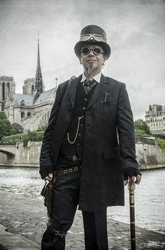 Steampunk Paris 01 by acharnementgraphique on deviantART