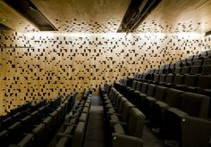 Basement auditorium   (chartier-corbasson architectes: regional chamber of commerce and industry)