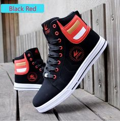 Casual shoes High Tops Sneakers For Men Casual Leather Lace Up Black White Gold Color USA street style Men Fashion Sneakers size 39-44