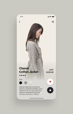 Fancy Fashion App UI Kit UI Place Fancy Fashion App UI Kit is a pack of delicate UI design screen templates that will help you to design clear user interfaces for fashion ecommerce shopping apps like Zara , ASOS or H&M faster and easier. Ios App Design, Mobile App Design, Design Android, Mobile App Ui, User Interface Design, Interface App, Design Typography, Logo Design, Design Poster
