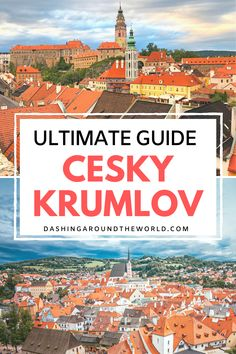 Your Ultimate Guide visiting the fairytale town Cesky Krumlov in the Czezch Republic! Everything you need to know including the best cafes and restaurants to try, amazing photography spots to snap… Europe Travel Guide, Travel Guides, Travel Hacks, Travel Destinations, European Destination, European Travel, Top Countries To Visit, Europe Must See, Awesome Things