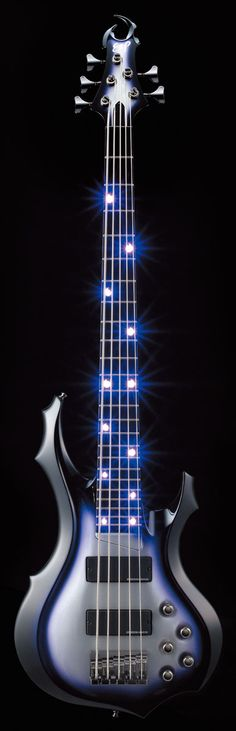 Chthonic's Bassist Doris Yeh's ESP Signature Bass