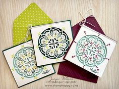 stampin up eastern palace notecards martha inchley lemon lime twist Scrapbooking Layouts, Scrapbook Cards, Space Crafts, Craft Space, Eastern Palace, Eid Cards, Stampin Up Catalog, Card Making Inspiration, Orient