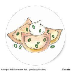 Pierogies Polish Cuisine Potato Dumplings Foodie