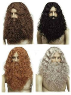 Transform yourself into a rugged Caveman or Dwarf with our Deluxe Caveman wig! The wig comes complete with the Maxi Beard and Mustache in either Brown, Black, Grey and Red. Its the perfect wig and Beard to become one of the Famous Dwarf's from the Lord of the Rings Franchise.   eBay!