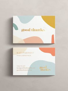 Abstract patterns in fun colors are a graphic design trend that is here to stay for These business cards look cheerful, bright and modern with bold typography and colorful patterns. Fun and colorful abstract patterns on business card Portfolio Graphic Design, Graphic Design Quotes, Retro Graphic Design, Church Graphic Design, Graphic Design Trends, Graphic Design Layouts, Corporate Design, Graphic Design Typography, Business Design