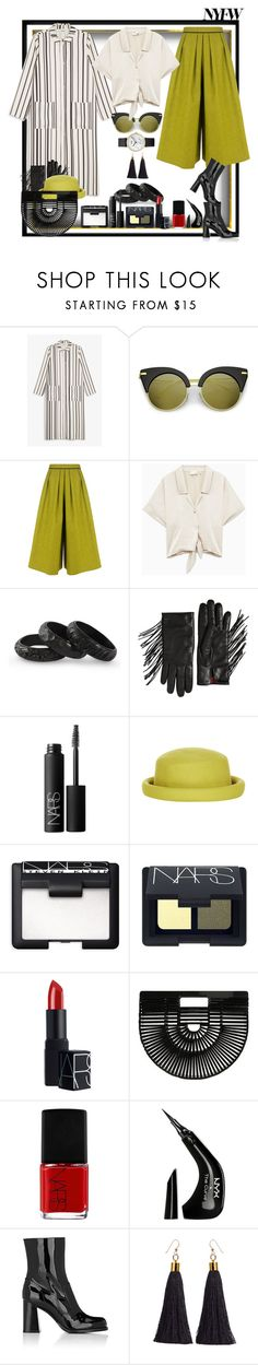 """Waving to all my friends!"" by ritva-harjula ❤ liked on Polyvore featuring Monki, BIG PARK, NOVICA, Valentino, NARS Cosmetics, Topshop, Cult Gaia, NYX and Marc Jacobs"