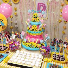 101 fiestas: Ideas para tu fiesta de emoticones