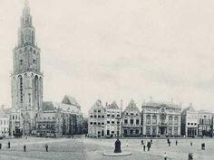 oostwand 1900 Old Postcards, Old City, Netherlands, Paris Skyline, Amsterdam, Dutch, Past, Old Things, Tower