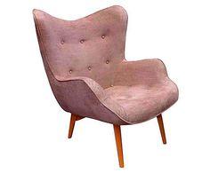 Cocktailsessel 80er  Klassischer Easy Chair aus den 60er Jahren. Schönes ...