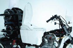 TOILET BIKE NEO: Crazy Poop-Powered Motorcycle to Travel Across Japan!