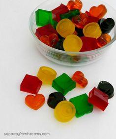 Zero Carb Gummy Candy - a sweet fruity treat!