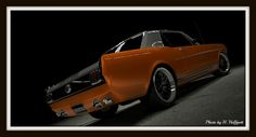 1965 Ford Mustang GT Coupe by Papa Borgia 74, via Flickr
