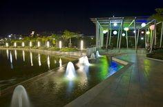 Gioco di luci all'interno del Parco della Musica (Fronte Thotel) Marina Bay Sands, Italy, Building, Travel, Musica, Italia, Viajes, Buildings, Destinations