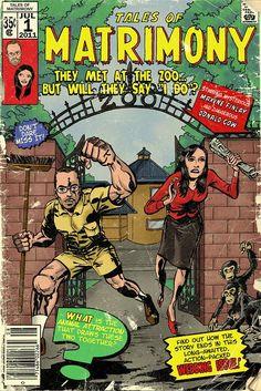 Comic Book Wedding Invitations | Comic Book Style Wedding Invitation ...