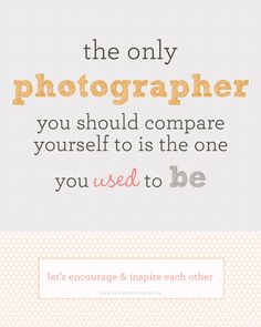Very inspired by this message from Girl Hearts Camera!