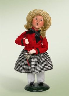 Byers Choice Valentine Girl 2013 413VG *** This is an Amazon Affiliate link. To view further for this item, visit the image link.