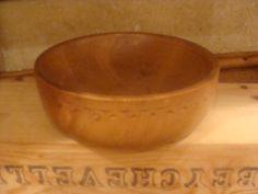 Vintage Turned Wooden Bowl. £6.00, via Etsy.