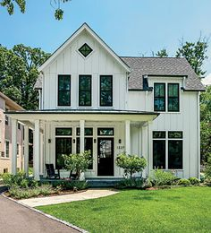 Carson and Dori Boneck balance rustic and urban styles in their suburban house.