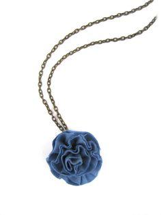Little Livingstone: How to Make a Ruffle Fabric Flower