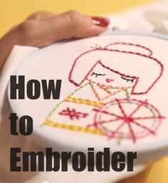 Free videos to help you learn how to embroider, but a quick and fun monogram project.
