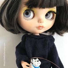 OOAK Custom Blythe Doll fake - Katy. di MissLittleBlythe su Etsy