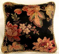 French Country Romantic Cottage Pillow by TsEclecticTreasures
