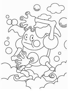 Desenhos para pintar Pokemon 18