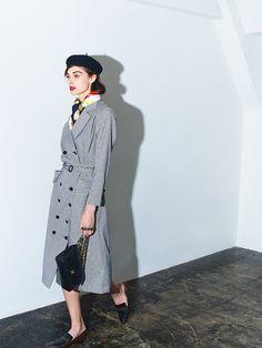 AMERI VINTAGE(アメリ ヴィンテージ)直営通販サイト / LOOKBOOK 2015A&W 02 Rockabilly Fashion, Retro Fashion, Vintage Fashion, Fashion 2017, Fashion Outfits, Womens Fashion, How To Wear Scarves, Parisian Chic, Timeless Fashion